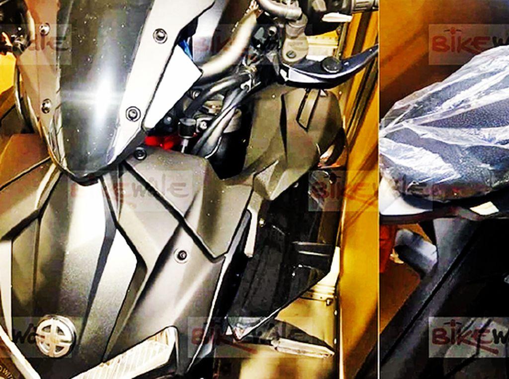 Terkuak, Ini Penampakan Naked Bike Kawasaki Bermesin Supercharged