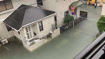 Banjir di Jepang Kok Bersih Airnya?
