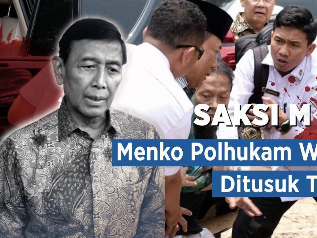Saksi Mata: Menko Polhukam Wiranto Ditusuk Teroris