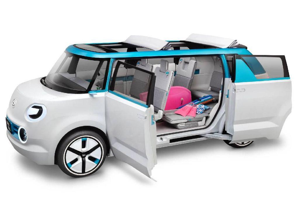 Konsep Mobil Daihatsu, Pesaing Jimny sampai Mobil Otonom