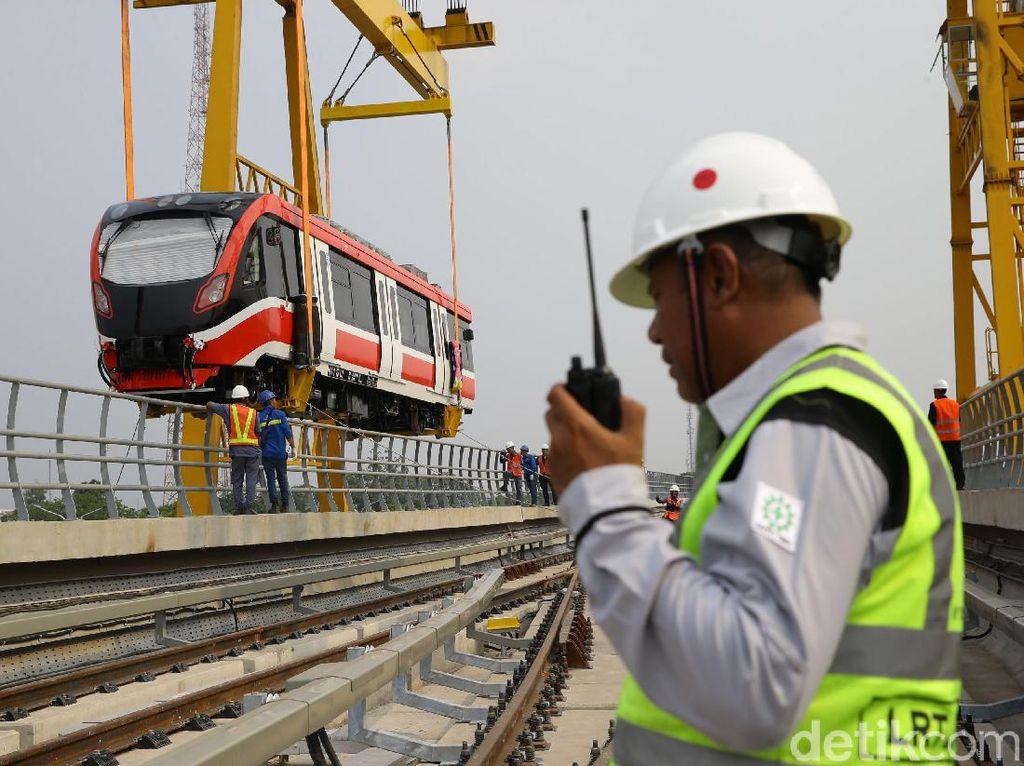 LRT Jabodebek Beroperasi 2021, Ini yang Masih Dikebut
