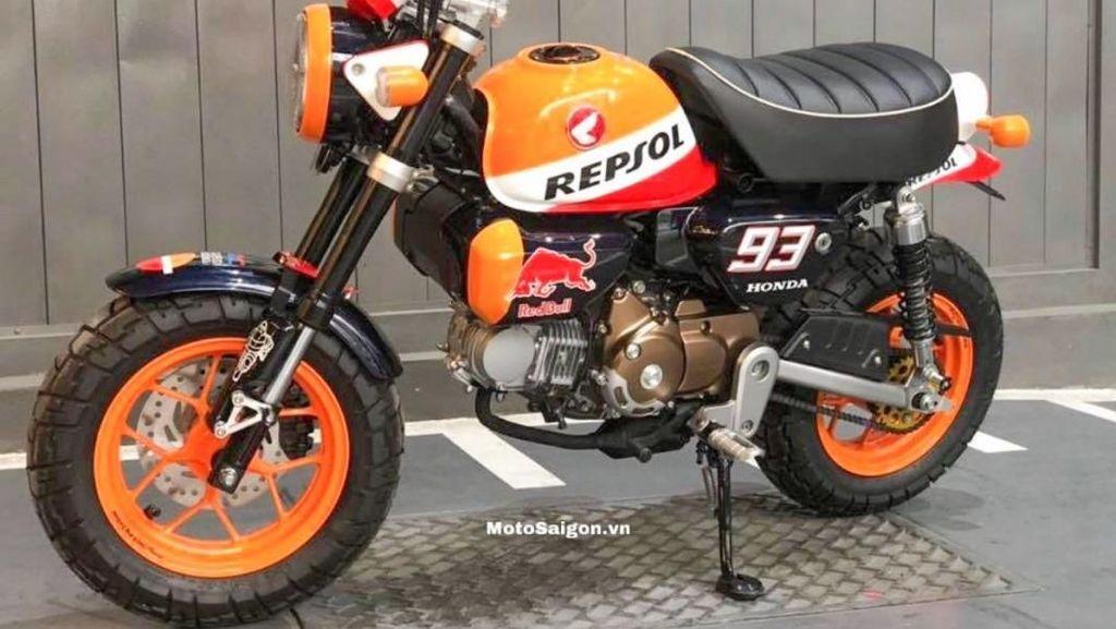 Motor Mungil Monyet Berkelir MotoGP