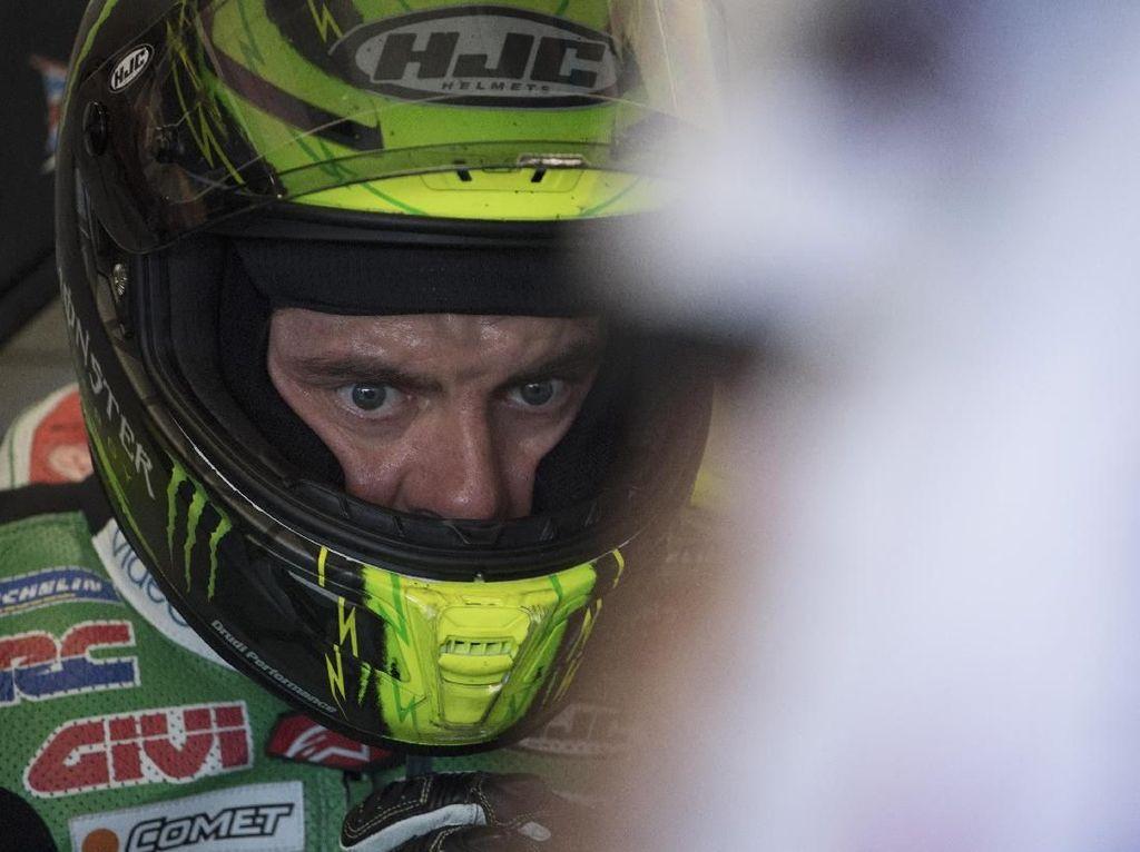 Jatuh Saat Warm Up Lap, Cal Crutchlow Absen dari MotoGP Spanyol