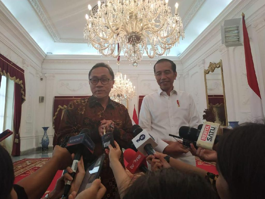 Bahas Amandemen UUD dengan Jokowi, Zulhas: Presiden Tak Dimandataris MPR
