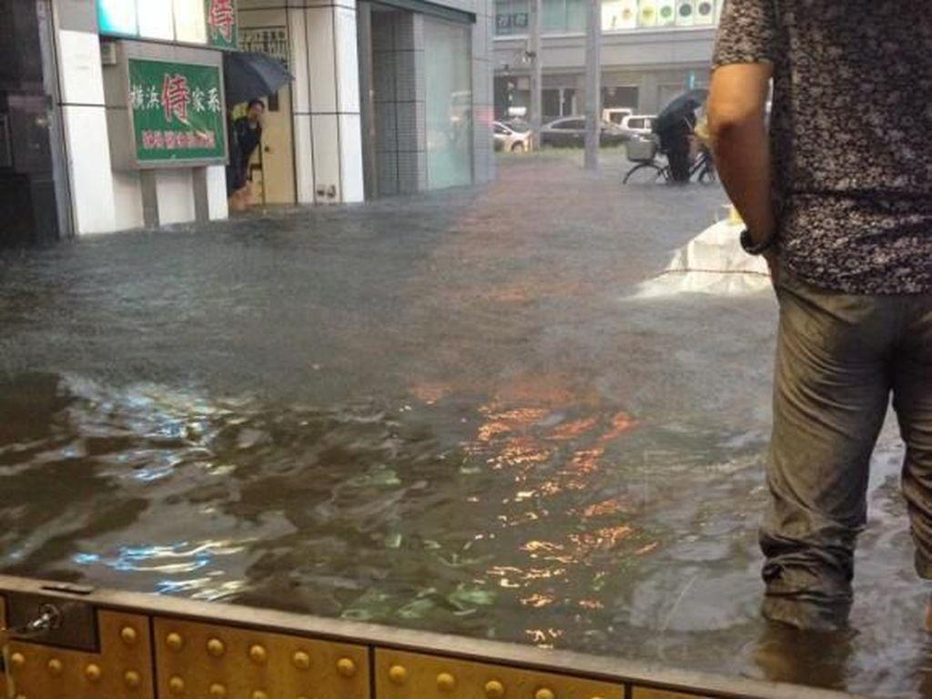 Potret Banjir yang Bersih di Jepang