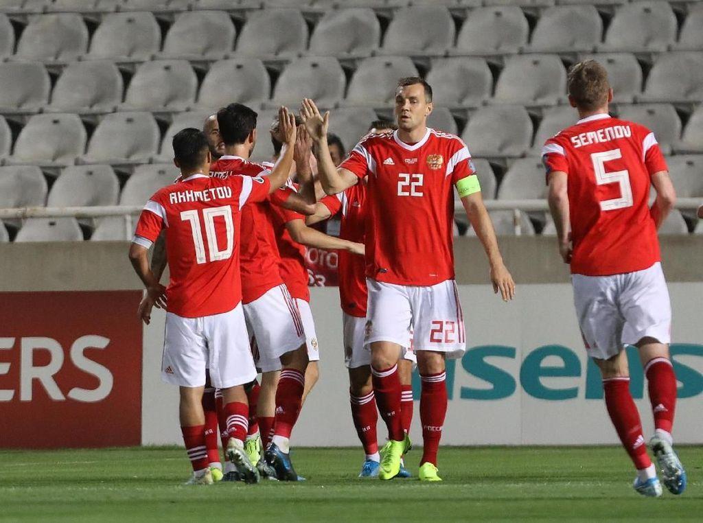 Rusia Susul Belgia dan Italia ke Piala Eropa 2020