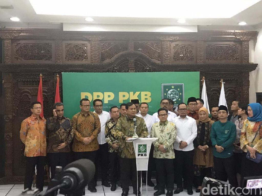 Dapat Sinyal Gabung Koalisi, Prabowo: Hak Prerogatif Presiden