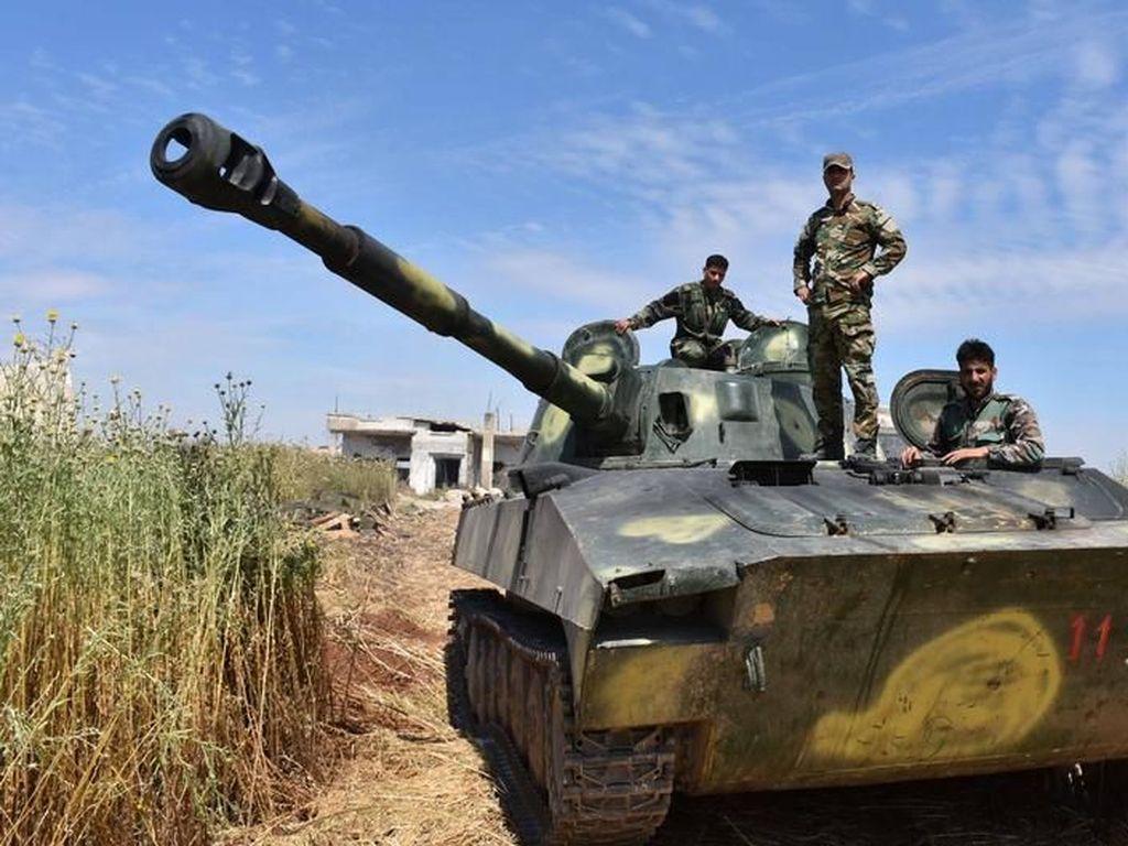 Hadapi Serangan Turki, Suriah Kerahkan Pasukan Militer ke Utara