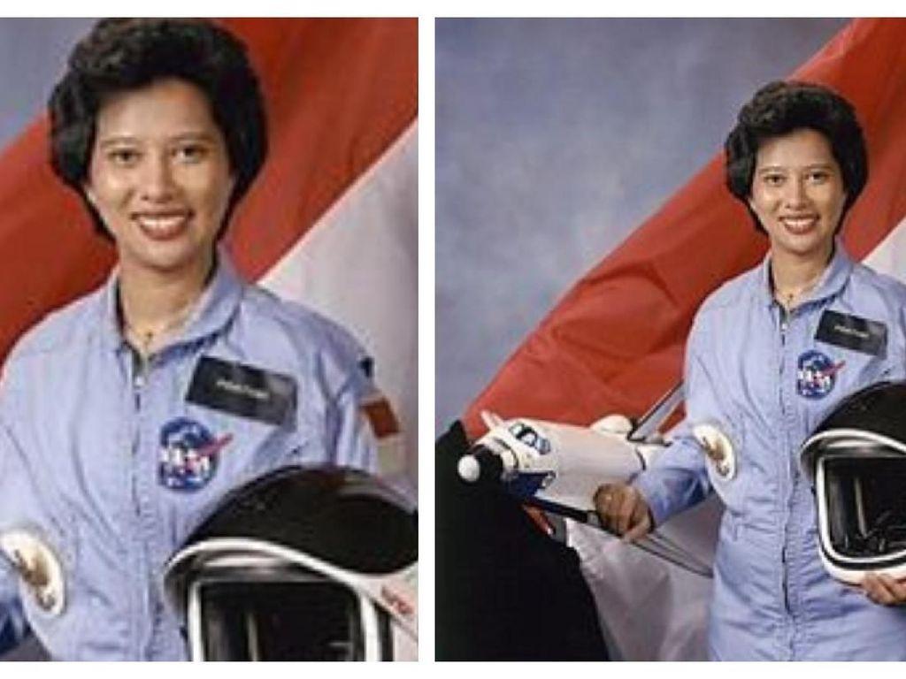 Mengenang Calon Astronaut Wanita Pertama Indonesia