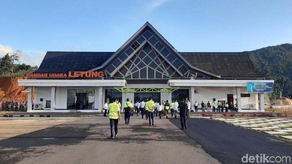 Terkini! Penampakan Bandara Paling Utara RI