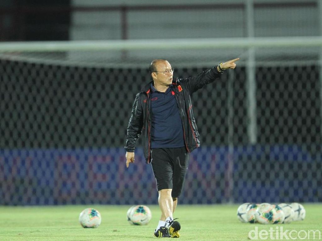 Indonesia Vs Vietnam di Final SEA Games: Tetralogi Park Hang-seo