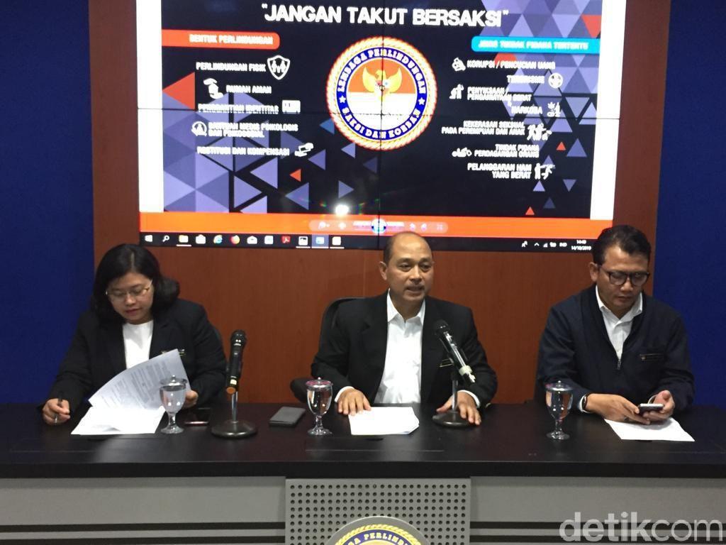 Ingin Tanggung Dana Medis Wiranto, LPSK Ungkap Dasar Hukumnya