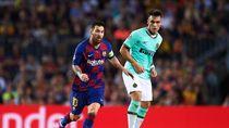 Messi Angkat Bicara Soal Kabar Lautaro Digaet Barcelona