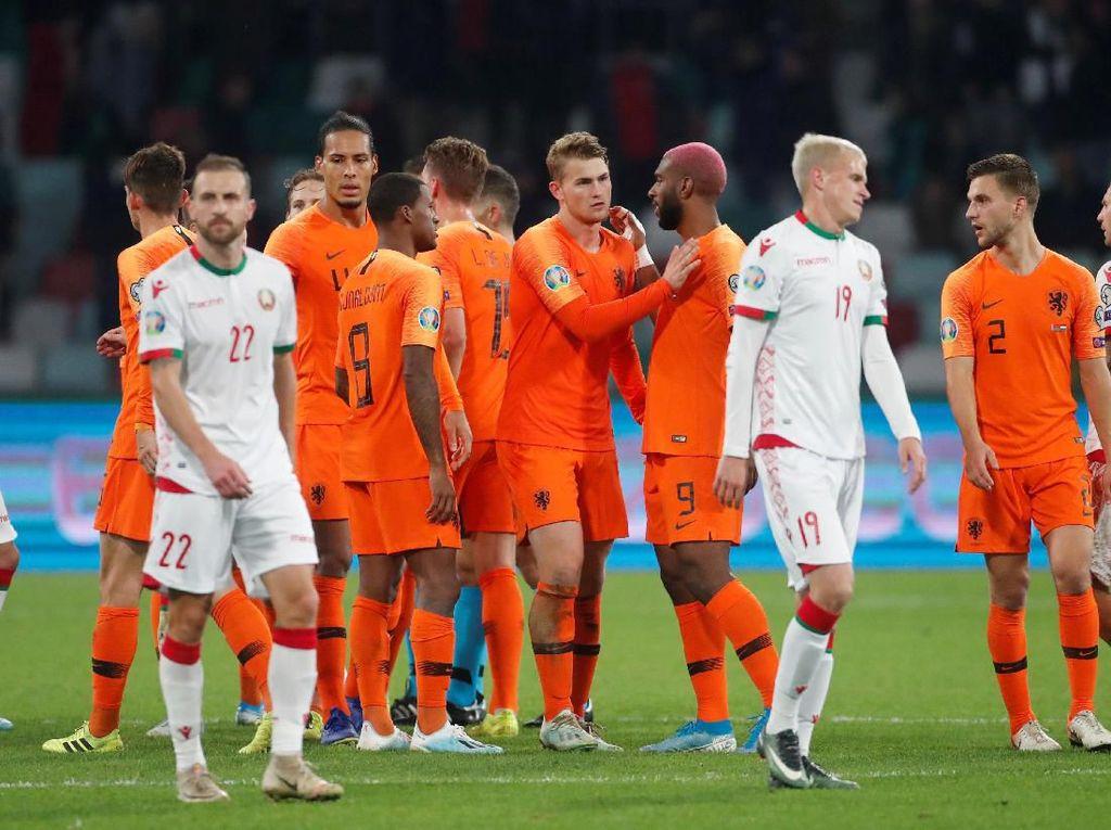 Belanda Semakin Dekat dengan Piala Eropa, tapi...