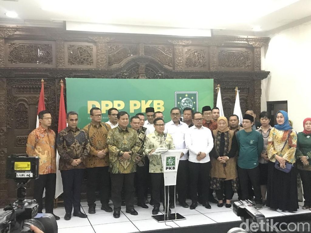 Tak Takut Jatah Menteri Kurang, Cak Imin Sebut Gerindra Makmum Masbuk