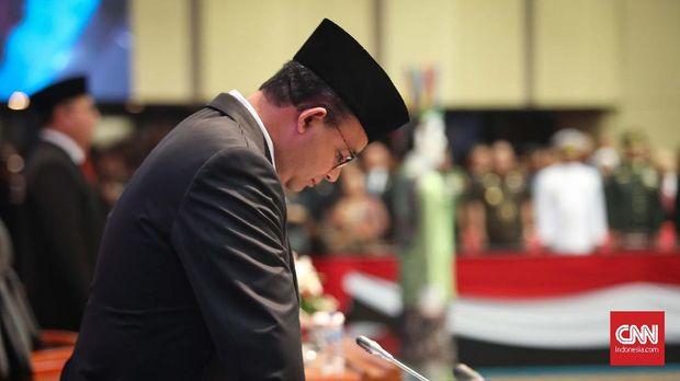 Gubernur DKI Jakarta, Anies Baswedan. CNNIndonesia/Safir Makki