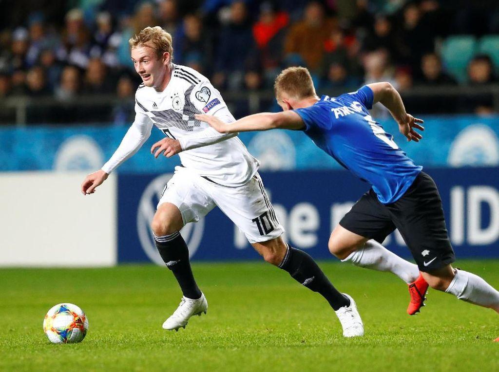 Kualifikasi Piala Eropa 2020: 10 Pemain Jerman Bungkam Estonia 3-0