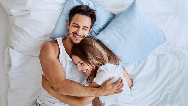 Ilustrasi suami dan istri