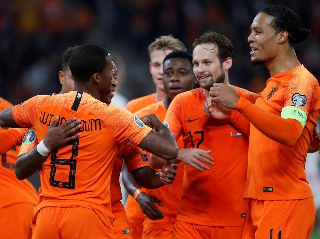 Belarusia Vs Belanda: Wijnaldum Dua Gol, De Oranje Menang Tipis
