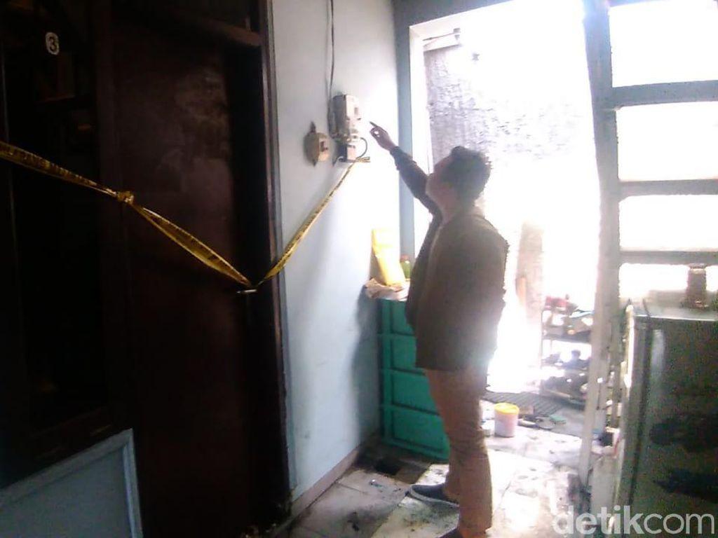 Pembakar Istri Hubungi Penjaga Kos Kembalikan Motor yang Dibawa Kabur
