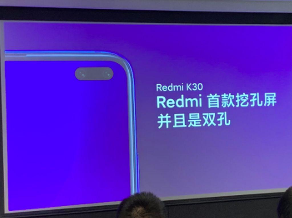 Bos Xiaomi Bocorkan Redmi K30 Pakai Lubang Kamera Ganda