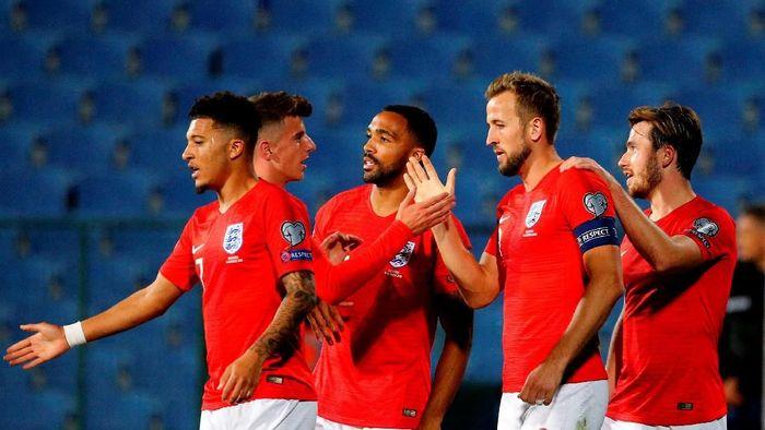 Inggris menang enam gol tanpa balas di kandang Bulgaria (REUTERS/Anton Uzunov)