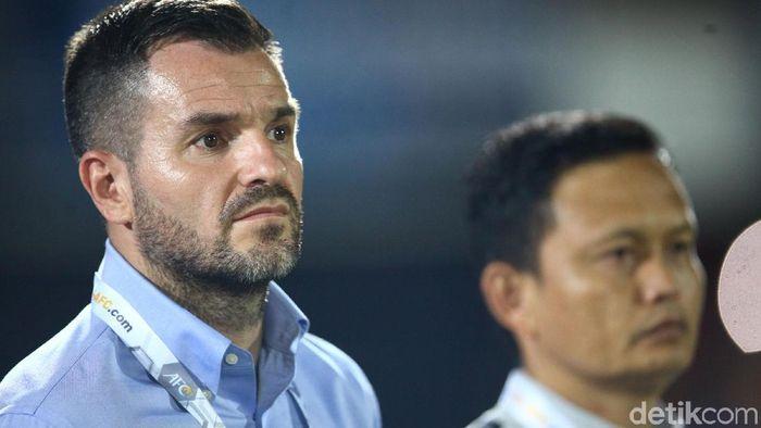 pelatih Timnas Indonesia Simon McMenemy (Rifkianto Nugroho/detikSport)