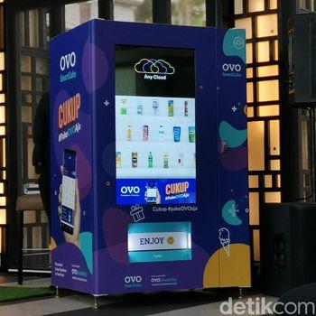 Ovo SmartCube, Vending Machine Bisa Bayar Pakai Point