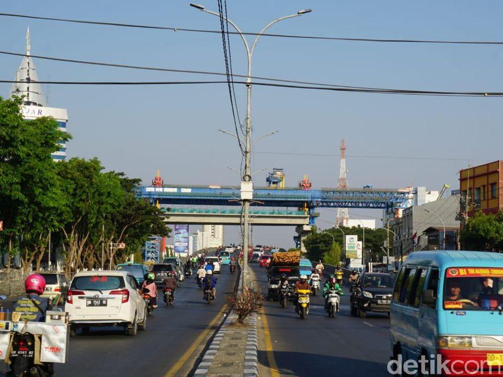 Begini Rekayasa Lalu Lintas di Makassar Saat Malam Tahun Baru