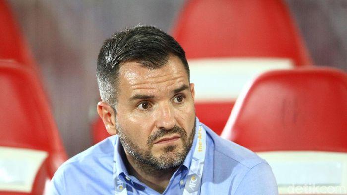 Simon McMenemy dipecat PSSI dari kursi pelatih Timnas Indonesia. (Foto: Rifkianto Nugroho/detikSport)