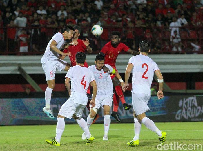 Timnas Indonesia pernah mengakhiri Kualifikasi Piala Dunia dengan selalu menelan kekalahan. (Foto: Rifkianto Nugroho/detikcom)