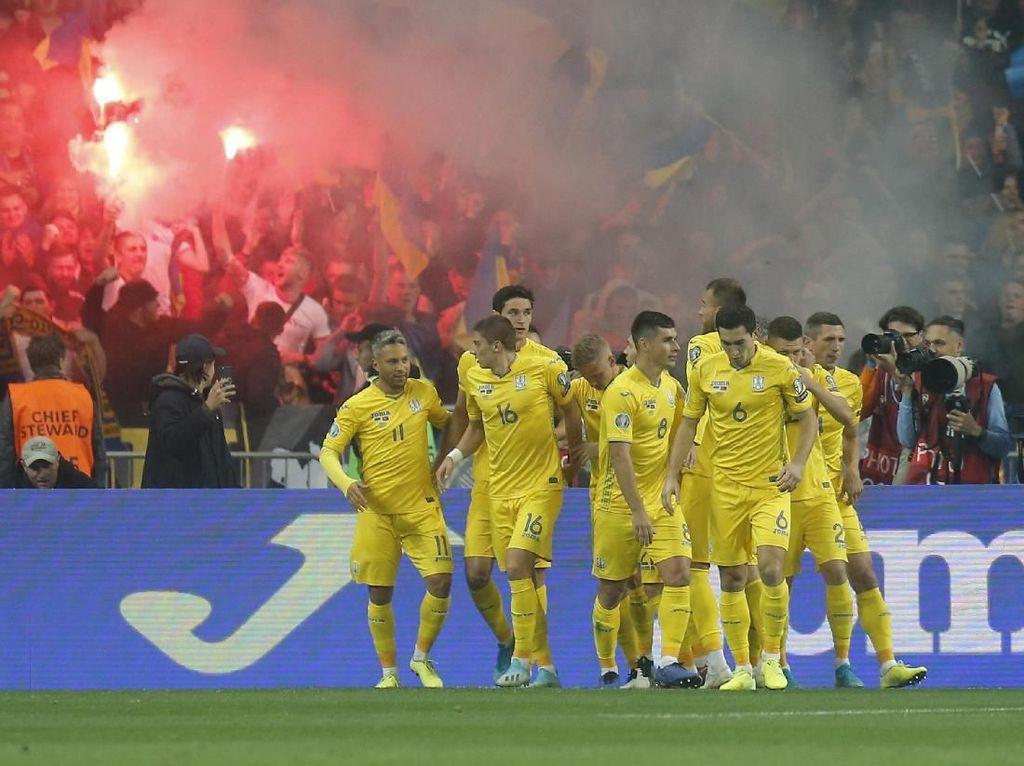 Kangkangi Portugal, Ukraina Lolos Duluan ke Piala Eropa 2020