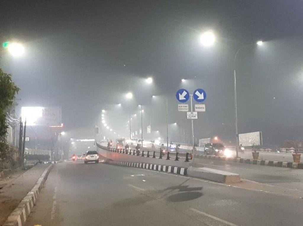 Kabut Asap Selimuti Palembang Malam Ini, Status Udara Sangat Tidak Sehat