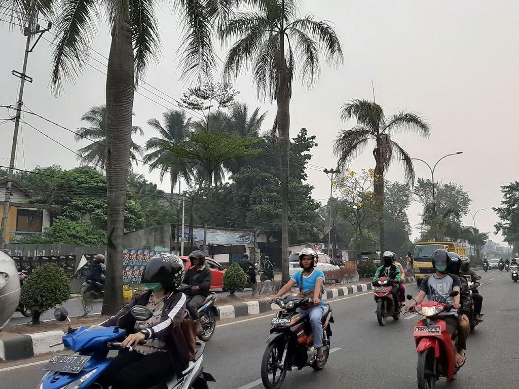 Palembang Diselimuti Kabut Asap, PAUD-SMP Masih Diliburkan