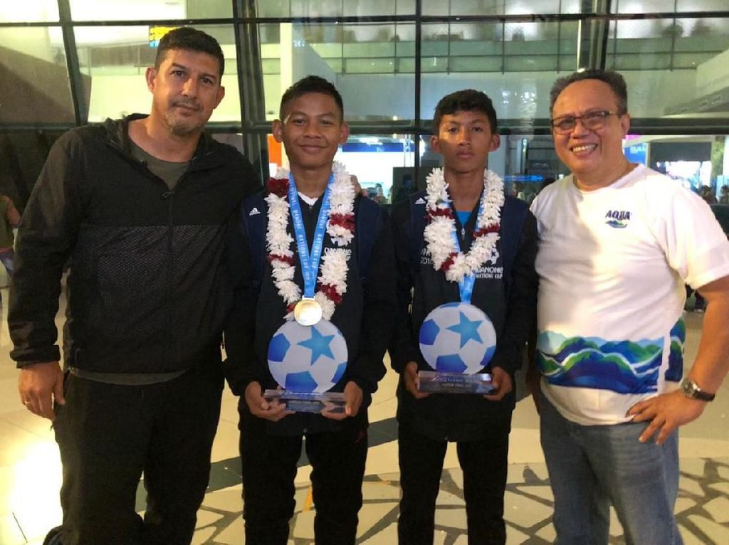 Indonesia Finis Keempat di Danone Nations Cup 2019