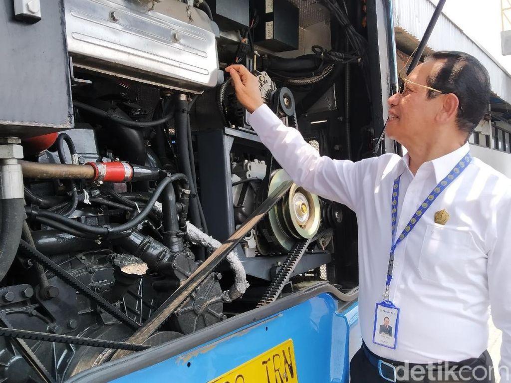 Dirut PPD Sebut Bus Zhongtong Punya Dalaman Eropa, Benarkah?