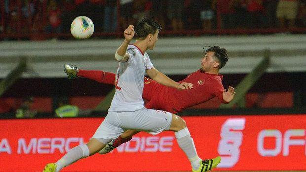 Beberapa peluang Timnas Indonesia juga dengan mudah terbuang.