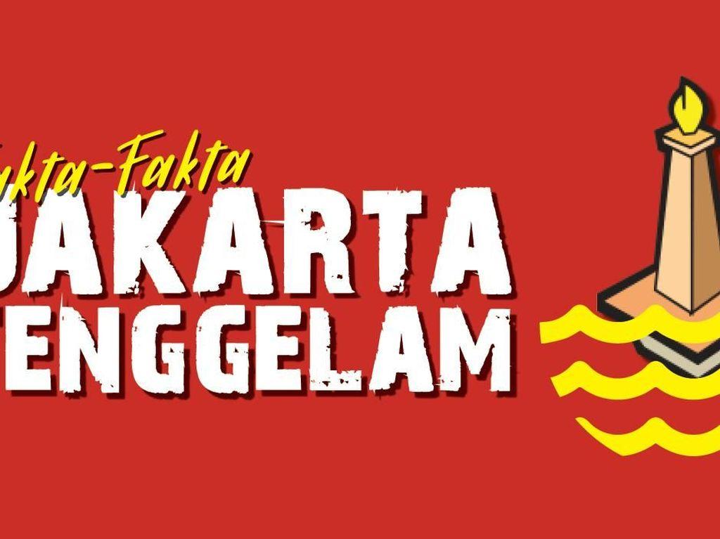 Bukan Hoax, Ini Bukti Jakarta Mau Tenggelam