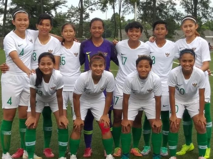 Timnas Indonesia Putri satu grup dengan Thailand dan Vietnam di SEA Games 2019. (Foto: dok. PSSI)