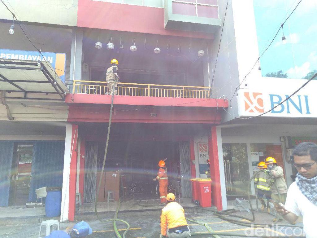 Baru Dibuka, Restoran Ramen di Cibiru Bandung Kebakaran