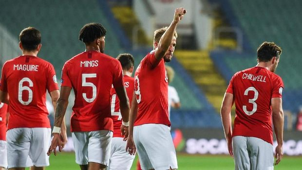 Timnas Inggris akan menghadapi Montenegro pada 14 November.