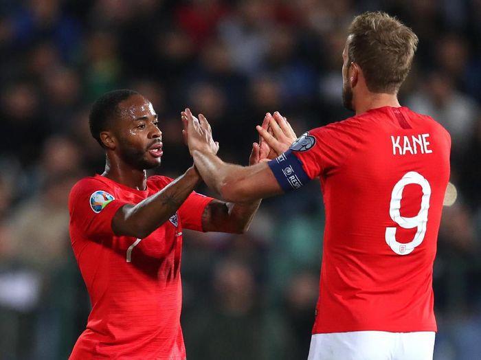 Timnas Inggris meraih kemenangan besar dalam lanjutan Kualifikasi Piala Eropa 2020 (Catherine Ivill/Getty Images)
