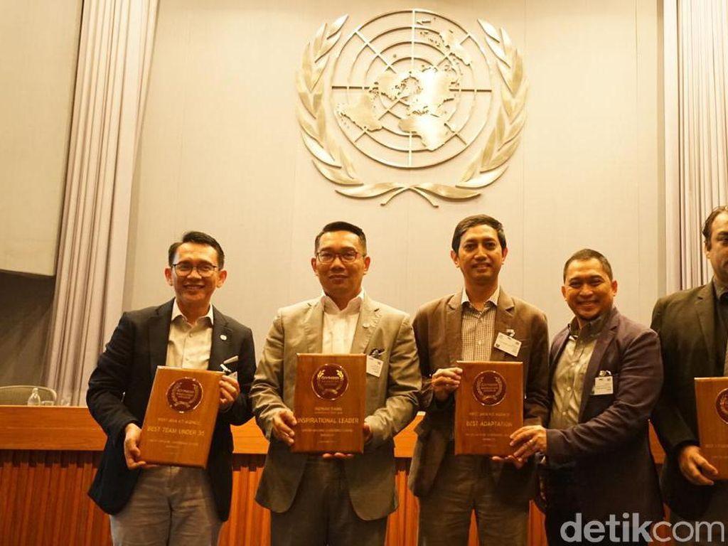 Ridwan Kamil Raih Penghargaan Pemimpin yang Menginspirasi di Asia Pasifik