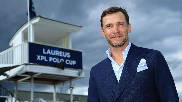 LONDON, ENGLAND - JUNE 20:  Laureus Ambassador Andriy Shevchenko is pictured during the Laureus Polo Cup 2019 at Ham Polo Club on June 20, 2019 in London, England. (Photo by Andrew Redington/Getty Images for Laureus)