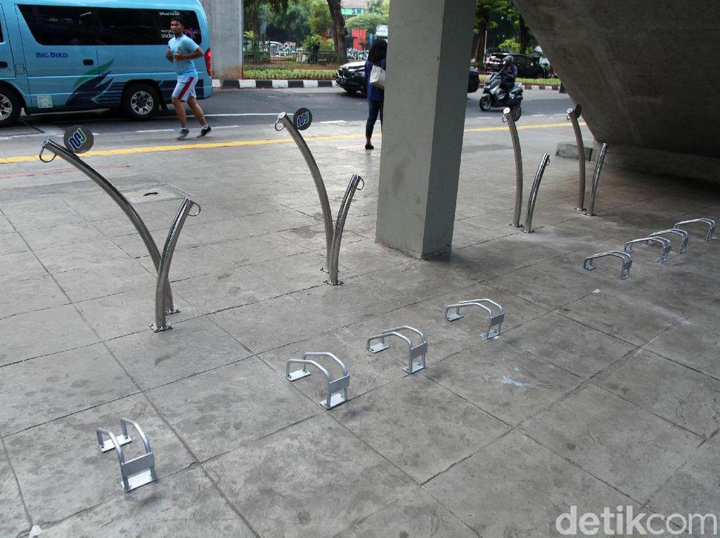 Asyik, Stasiun MRT Blok M Sediakan Parkiran Sepeda