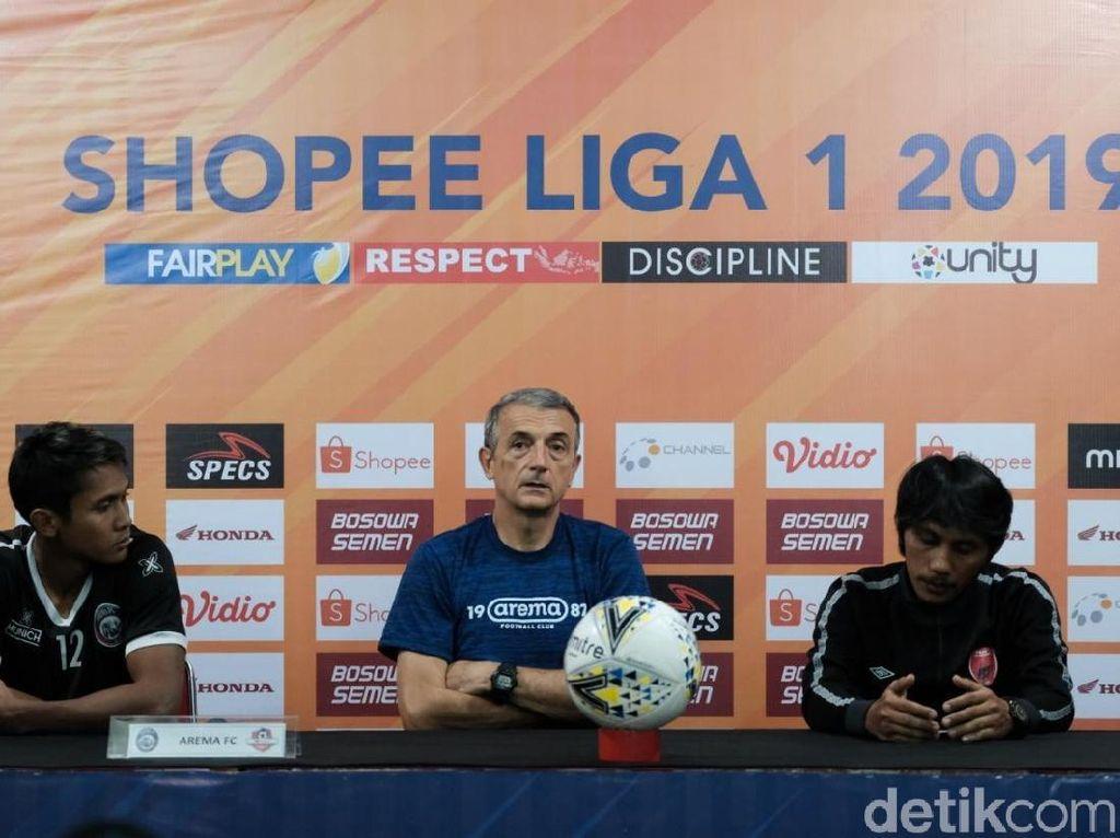 Meski Tanpa Lima Pemain Inti, Arema Target Menang di Makassar
