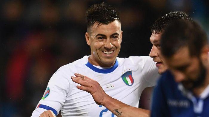 Setelah 2 tahun, Stephan El Shaarawy kembali tampil untuk timnas Italia (Foto: Claudio Villa/Getty Images)