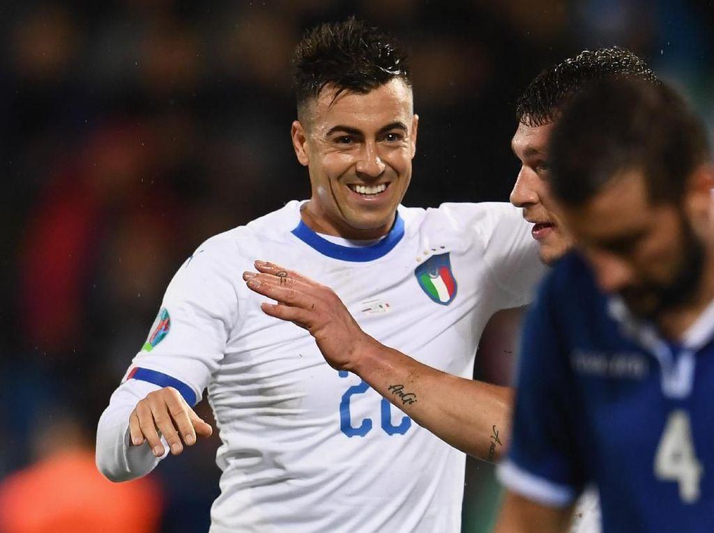 Comeback Emosional El Shaarawy bersama Timnas Italia