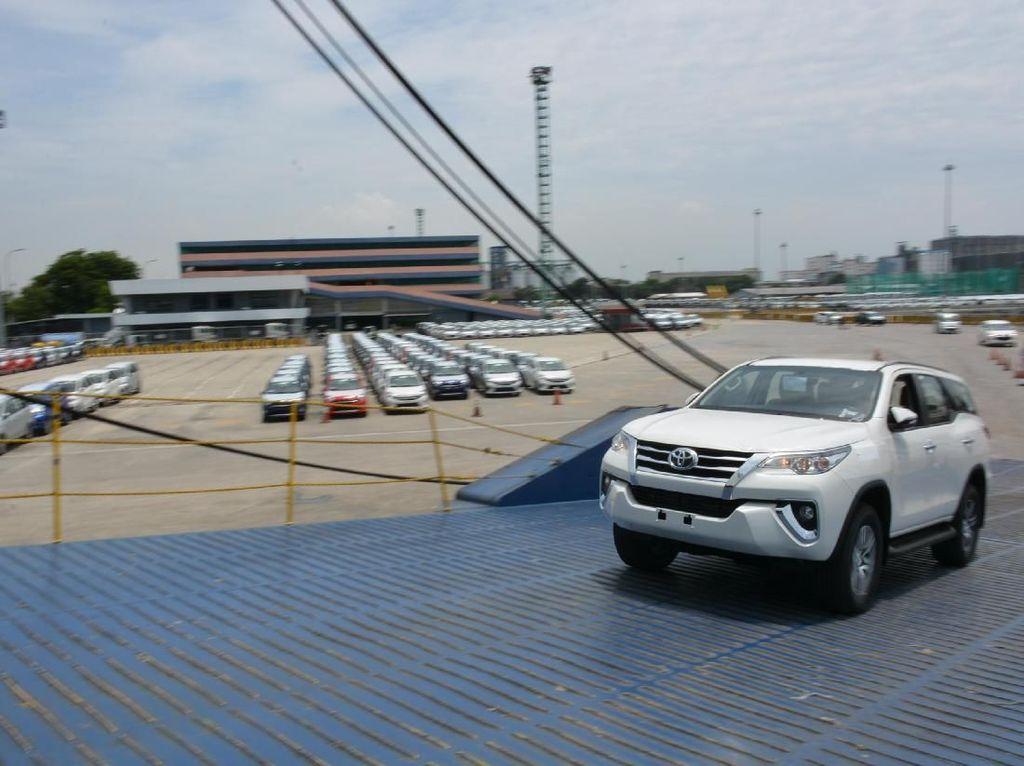 Toyota Sudah Kirim 158.700 Mobil ke Luar Negeri per September 2019