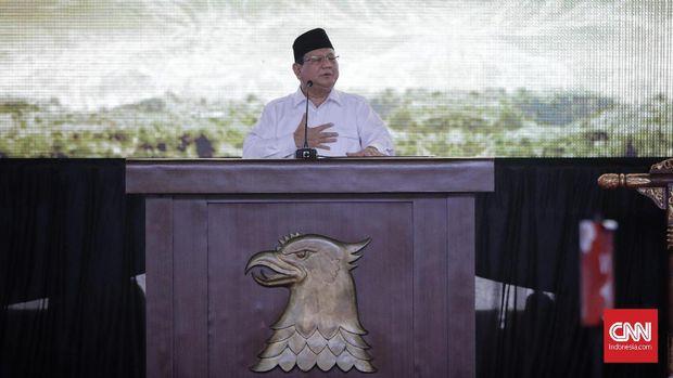 Ketua Umum Gerindra Prabowo Subianto. (